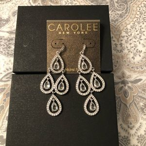CAROLEE New York 💎Bling💎Chandelier Earrings NWT